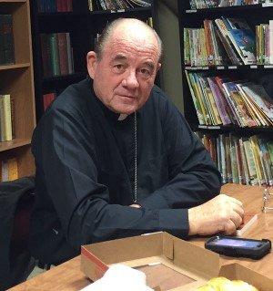 Pastor Hank Malone, St. John's Evangelical Lutheran Church in downtown Salt Lake City.